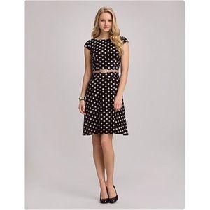Jones Studio Polka Dot Dress